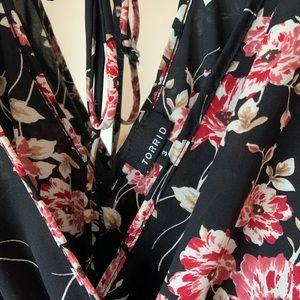 Torrid floral top